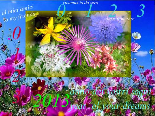 2013 anno dei vostri sogni